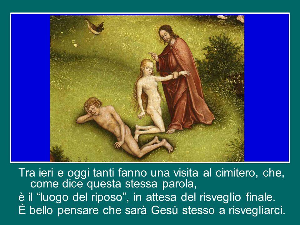 Da una parte, infatti, la Chiesa, pellegrina nella storia, si rallegra per l'intercessione dei Santi e dei Beati che la sostengono nella missione di a