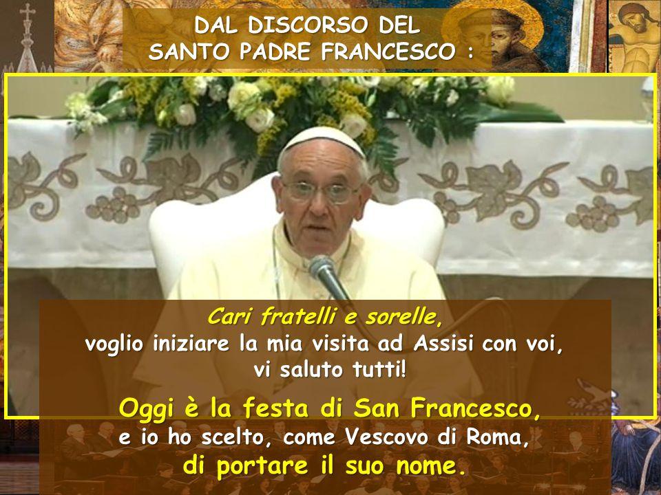 Ore 8.00 - Incontro con i bambini disabili e ammalati ospiti dell Istituto Serafico di Assisi