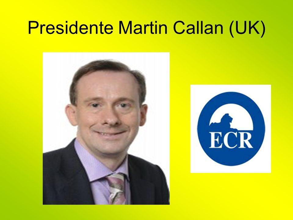 Presidente Martin Callan (UK)