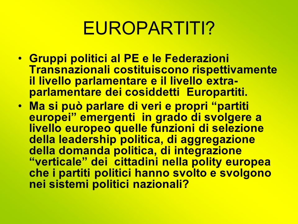 EUROPARTITI.