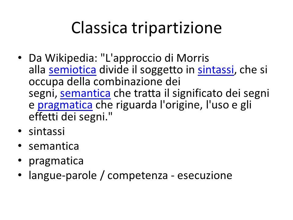 Classica tripartizione Da Wikipedia: