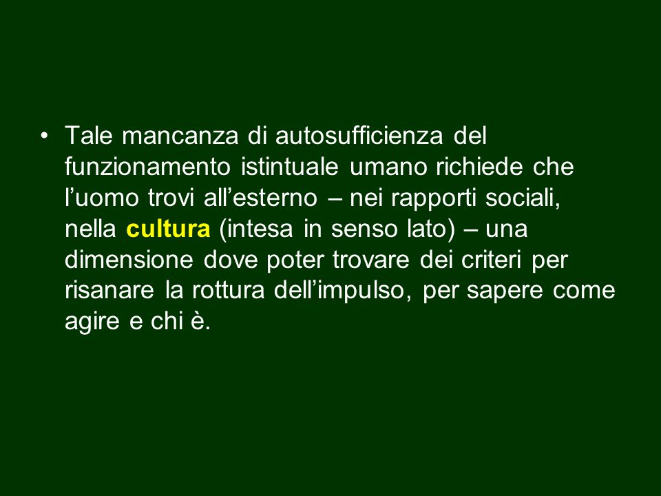 Jung parla in tal senso di processo di individuazione per significare il mai concluso percorso dell'uomo verso una maggiore individuazione ↓ l'uomo non deve assumere acriticamente i valori della cultura, della comunità di appartenenza, ma distaccarsene e diventare «individuo» Carl Gustav Jung (1875-1961), fu allievo di Sigmund Freud.