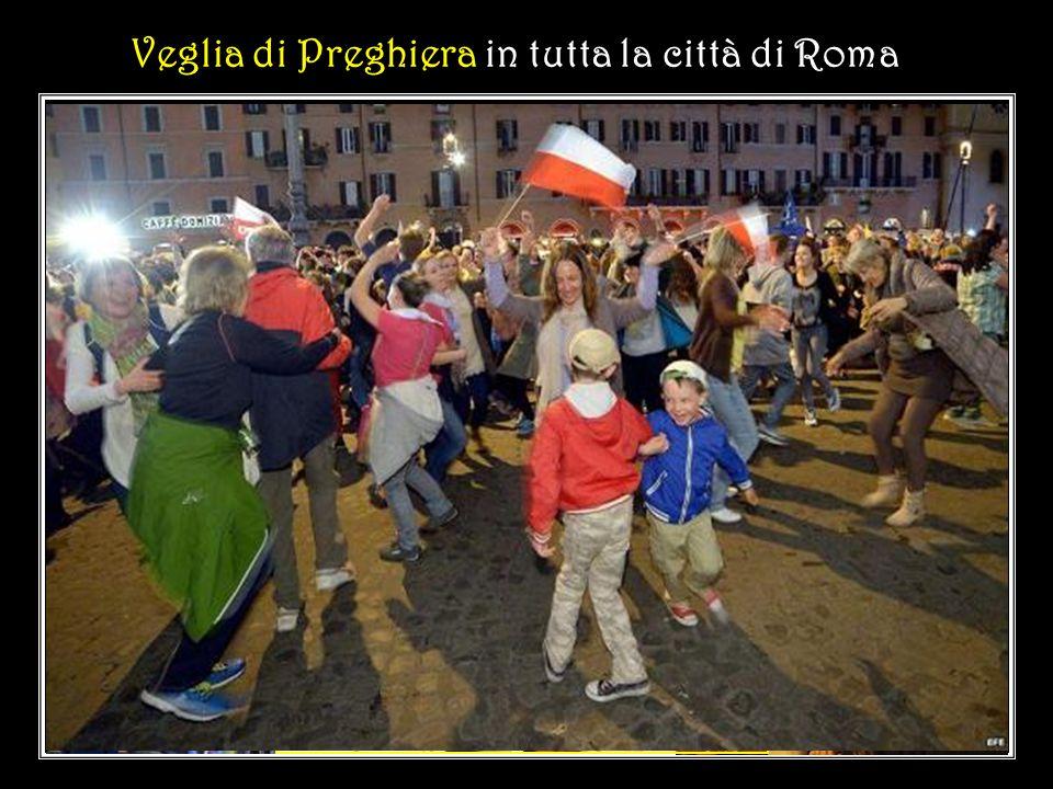 Veglia di Preghiera in tutta la città di Roma Veglia di Preghiera in tutta la città di Roma