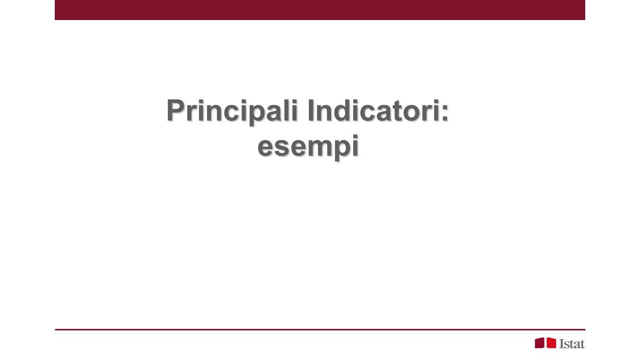 Principali Indicatori: esempi