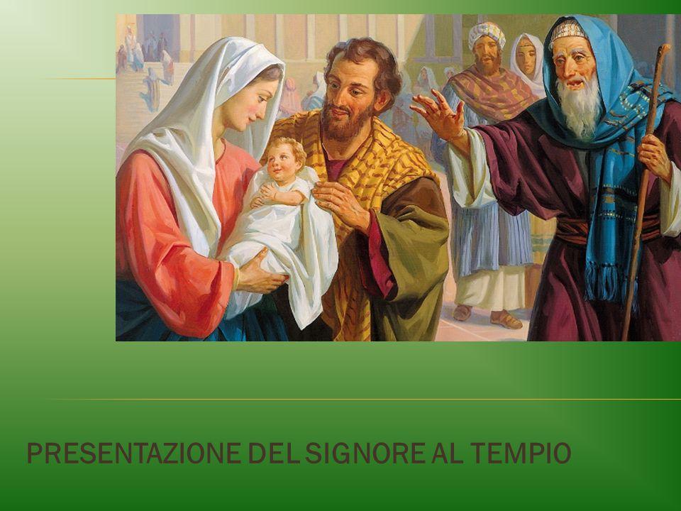  Accolse Gesù fra le sue braccia (2,28)  Benedisse Dio (2,28b)  Prega il cantico (2,29-32)  Benedisse i suoi genitori (2,34a)  Parlò a Maria (2,34b):  oracolo messianico