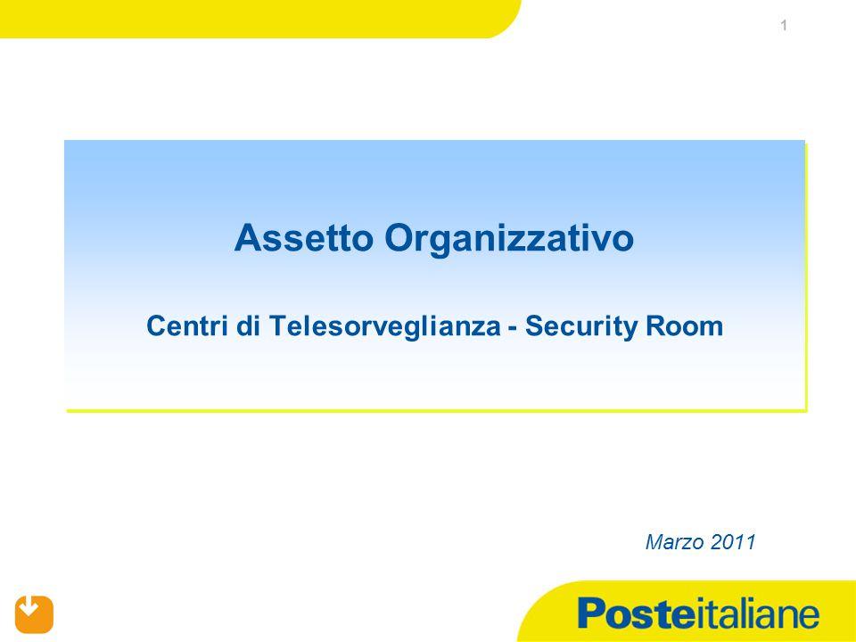 1 Assetto Organizzativo Centri di Telesorveglianza - Security Room Marzo 2011