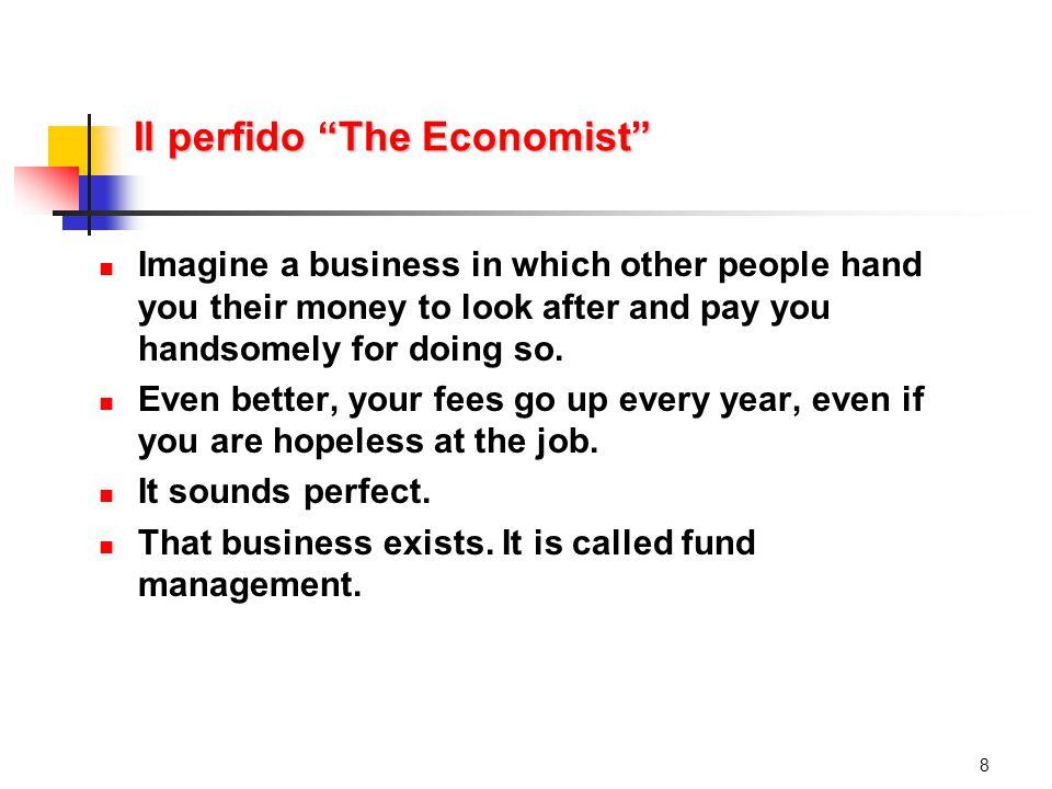 Perché scarso riconoscimento generale (a cominciare da Draghi).