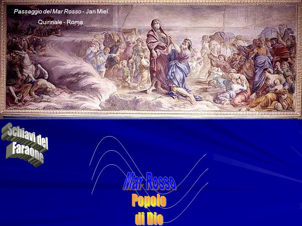 Passaggio del Mar Rosso - Jan Miel Quirinale - Roma