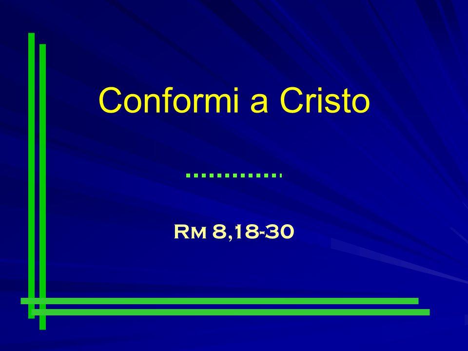 Conformi a Cristo Rm 8,18-30