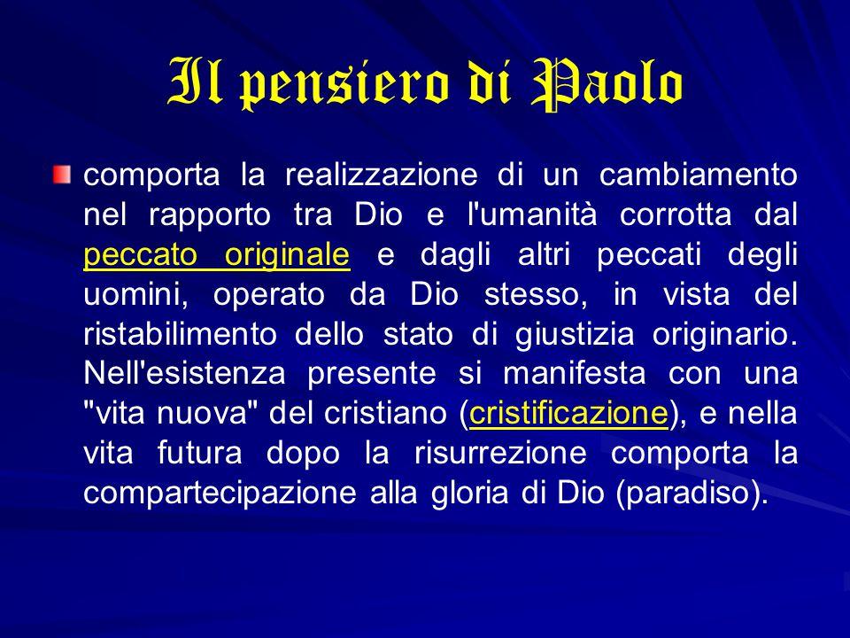 L' essere con il Cristo è frequentemente espresso da Paolo con termini da lui appositamente coniati.