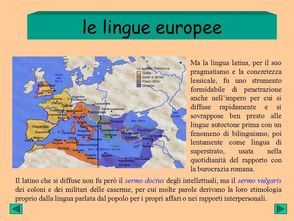 le lingue italiche I Celti indoeuropei calarono in Italia e le tribù si stabilirono in varie regioni, e la lingua pian piano si differenziò. Lingue no