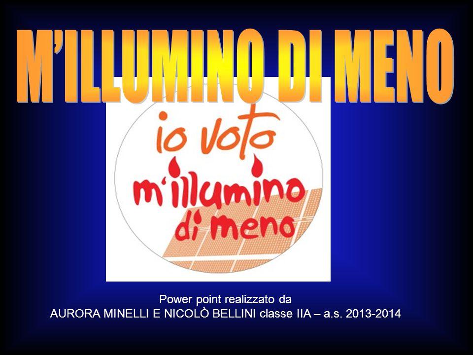 Power point realizzato da AURORA MINELLI E NICOLÒ BELLINI classe IIA – a.s. 2013-2014