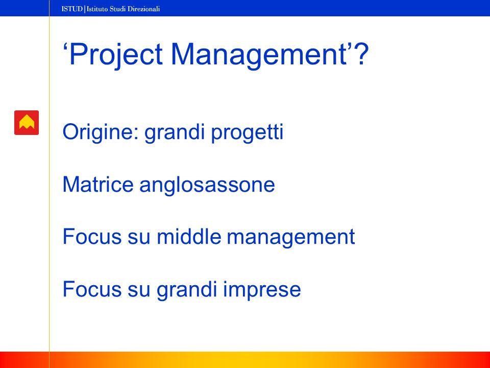 'Project Management'.