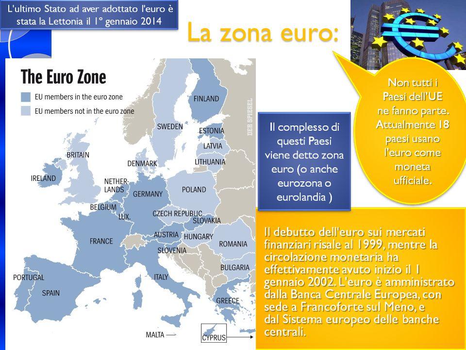 La zona euro: