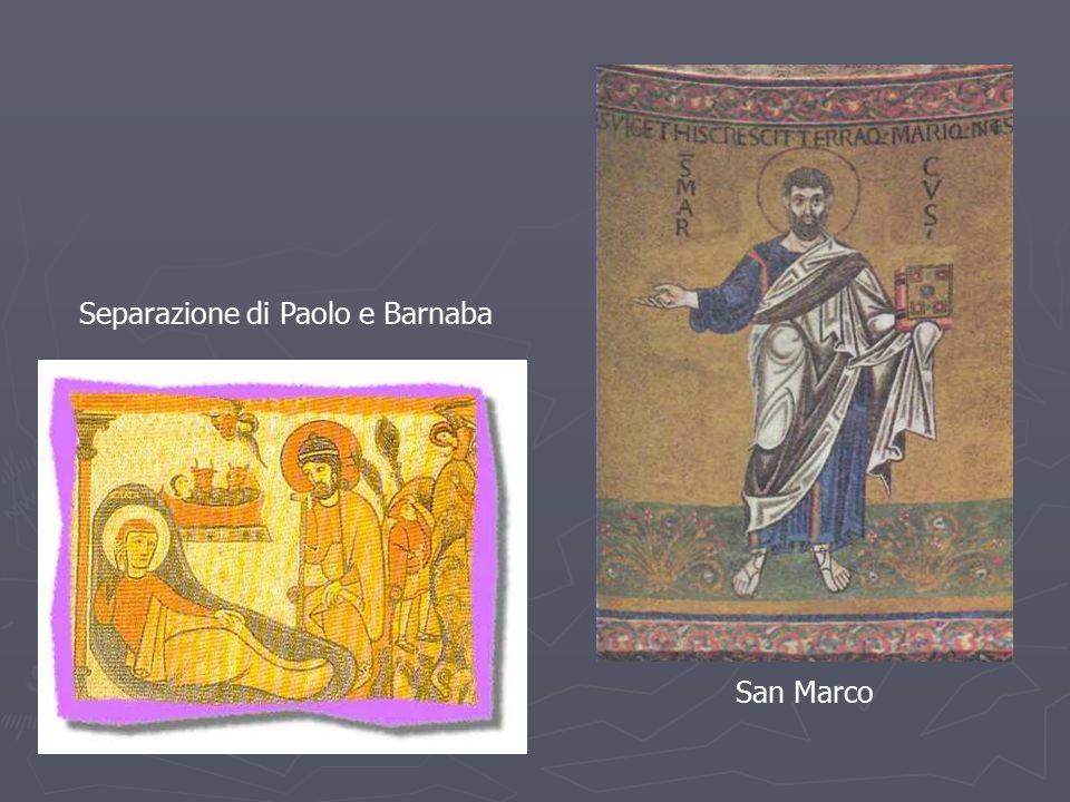 San Marco Separazione di Paolo e Barnaba