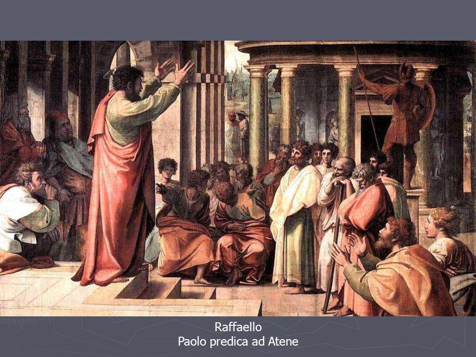 Raffaello Paolo predica ad Atene