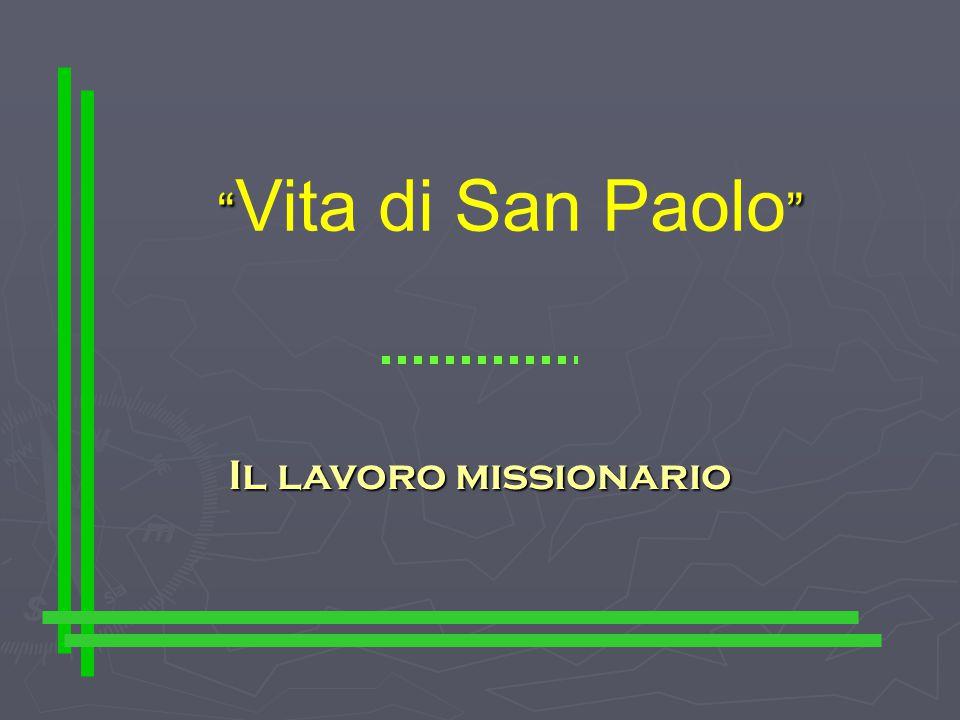 Vita di San Paolo Il secondo viaggio