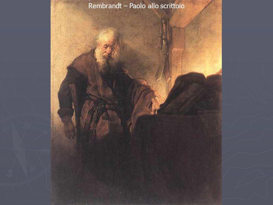 Rembrandt – Paolo allo scrittoio