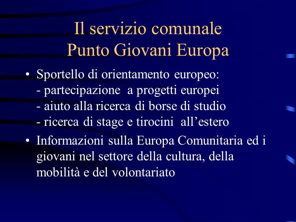 Servizio orientamento Lavorare in Europa concorsi in Europa agenzie interinali all'estero Partecipa alla rete nazionale degli Eurodesk point distribuiti anche all'estero