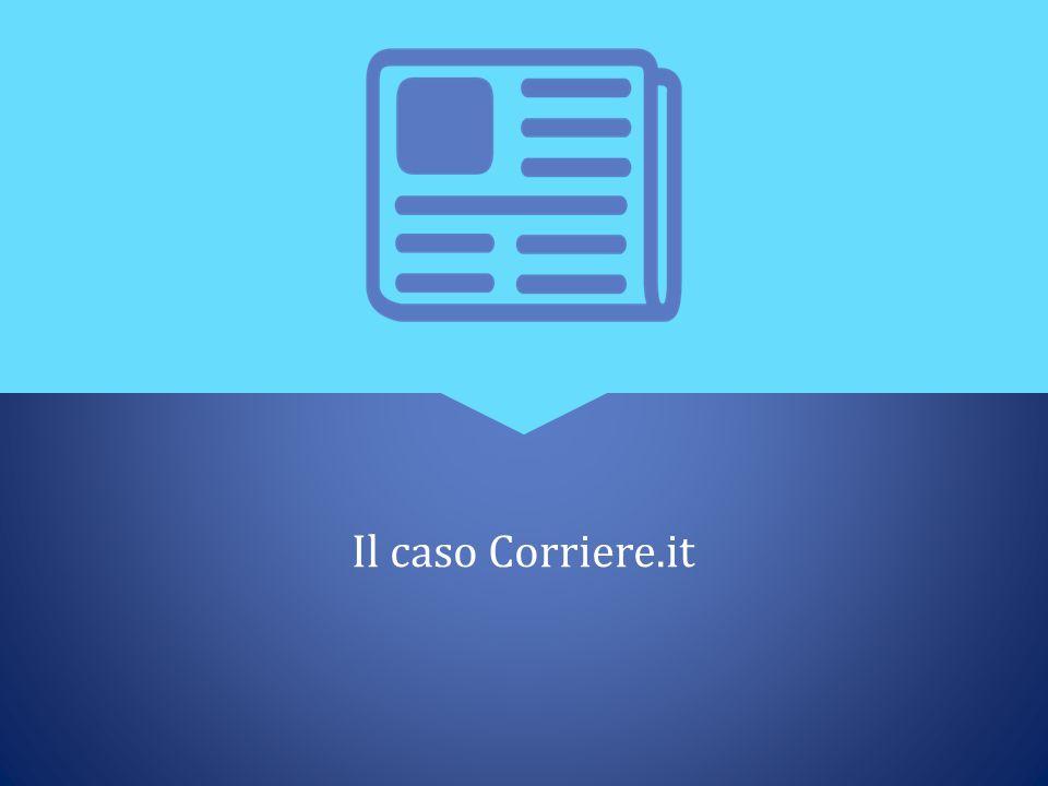 Il caso Corriere.it