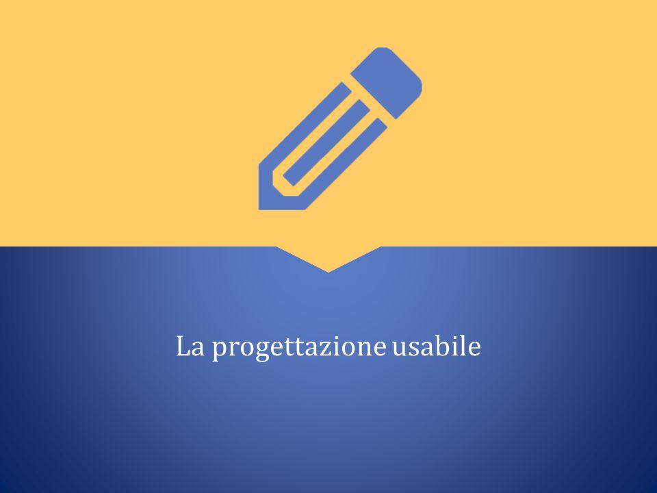 La progettazione usabile