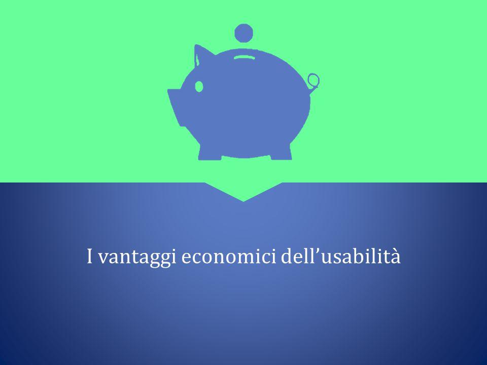 I vantaggi economici dell'usabilità