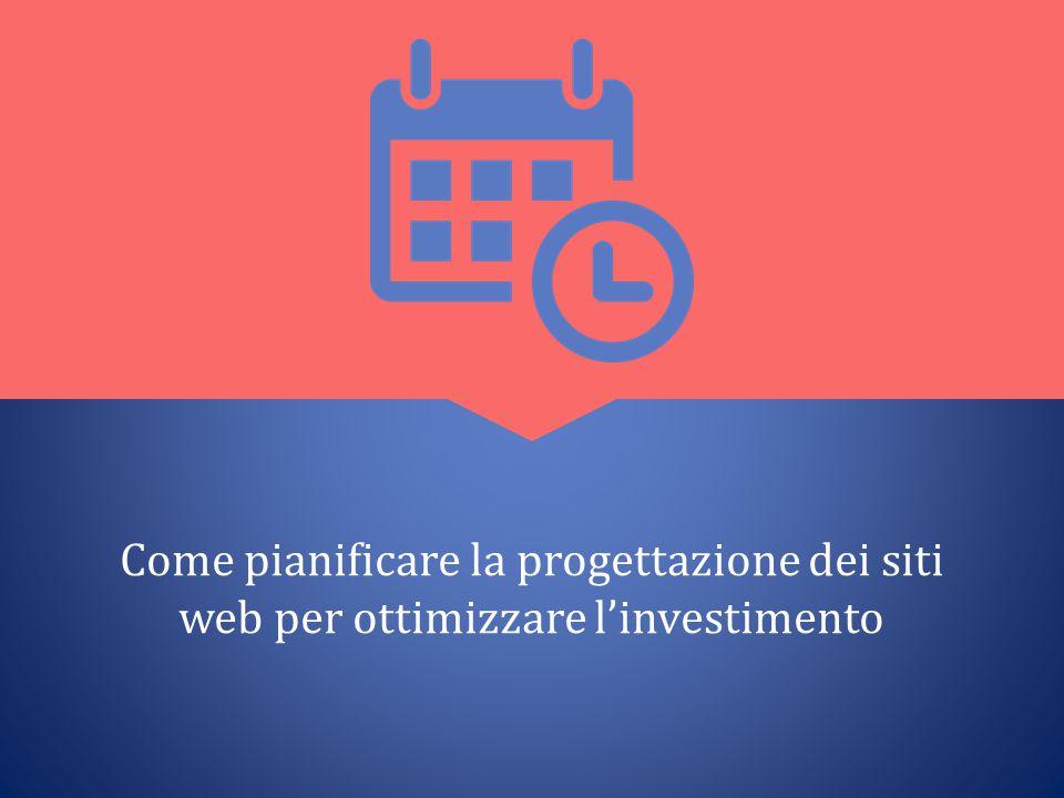 Come pianificare la progettazione dei siti web per ottimizzare l'investimento