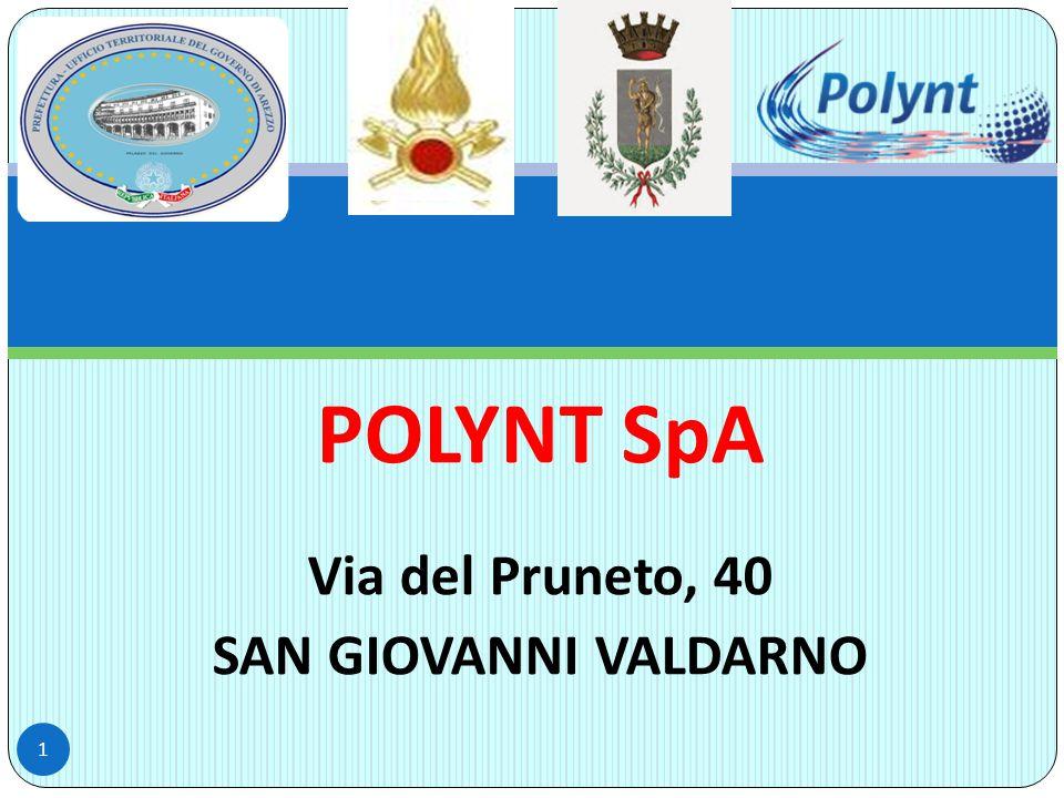 POLYNT SpA Via del Pruneto, 40 SAN GIOVANNI VALDARNO 1