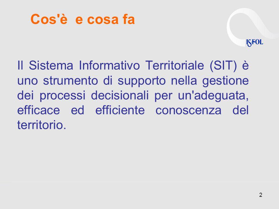 Il Sistema Informativo Territoriale (SIT) è uno strumento di supporto nella gestione dei processi decisionali per un adeguata, efficace ed efficiente conoscenza del territorio.