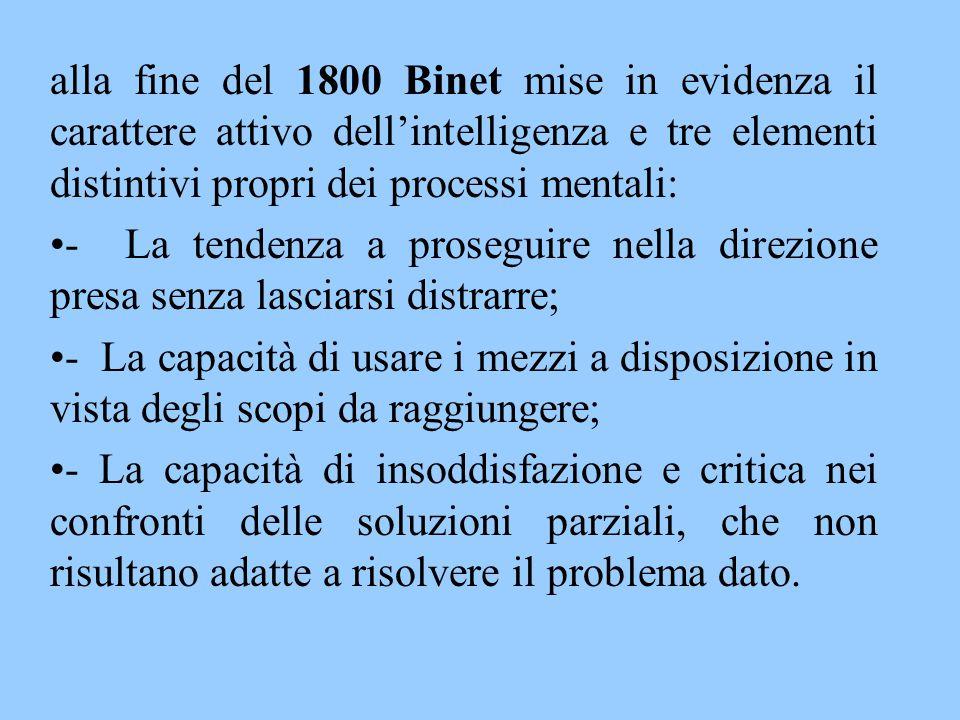 Nei suoi studi Binet aveva notato un normale incremento delle capacità mentali associato all'età.