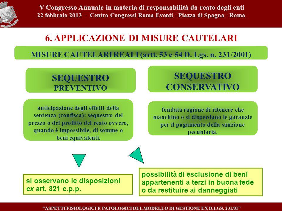 V Congresso Annuale in materia di responsabilità da reato degli enti 22 febbraio 2013 - Centro Congressi Roma Eventi - Piazza di Spagna - Roma ASPETTI FISIOLOGICI E PATOLOGICI DEL MODELLO DI GESTIONE EX D.LGS.