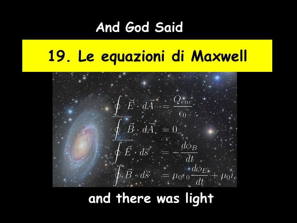 23 Lo spettro elettromagnetico e la luce La radiazione EM (di cui la luce occupa un piccolo intervallo di frequenze) assume nomi diversi a seconda della sua frequenza.