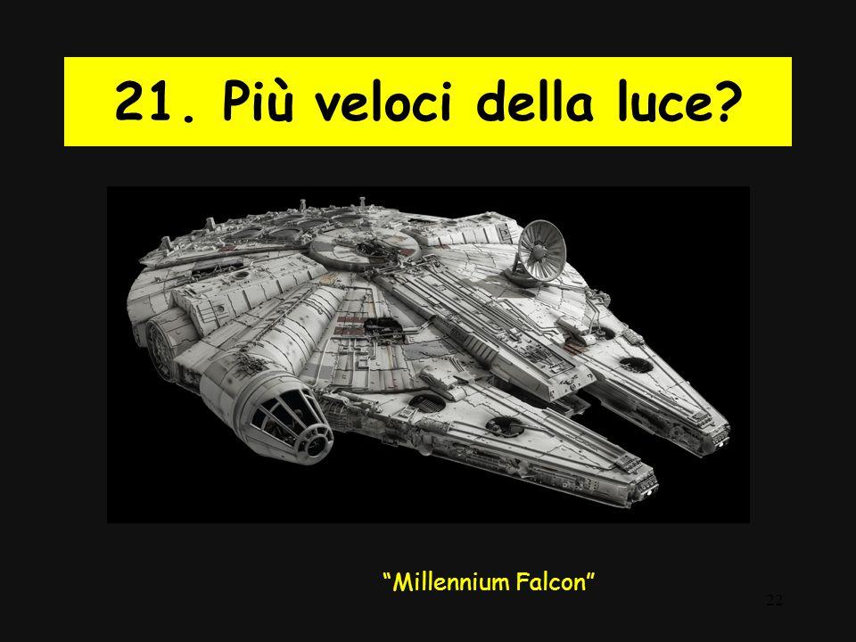 """22 21. Più veloci della luce? """"Millennium Falcon"""""""