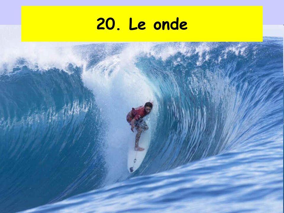10 Proprietà generali delle onde Un'onda è una perturbazione che si propaga trasportando energia, ma non materia.