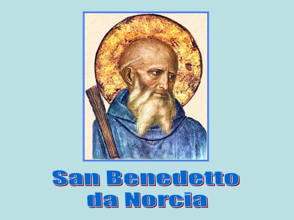 San Benedetto da Norcia è uno degli esempi più luminosi che troviamo nella storia della Chiesa e dell'umanità.