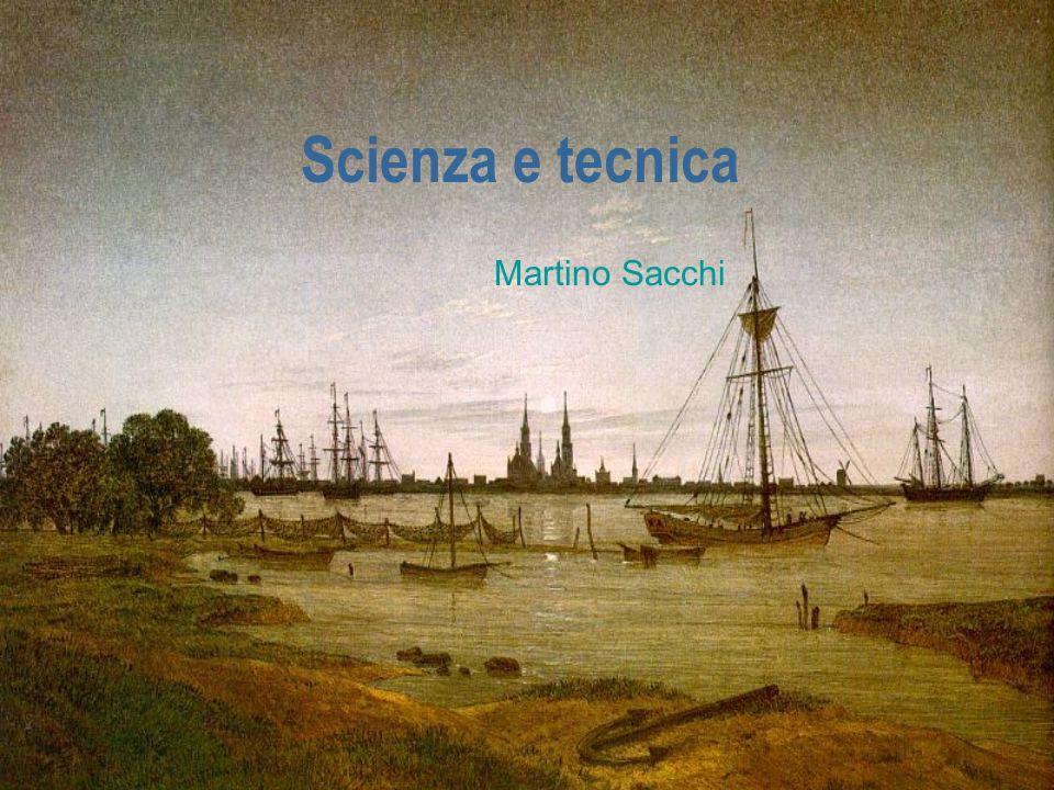 Scienza e tecnica Martino Sacchi