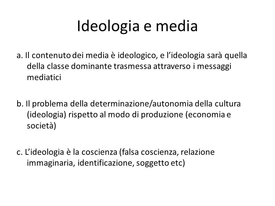 Ideologia e media a.