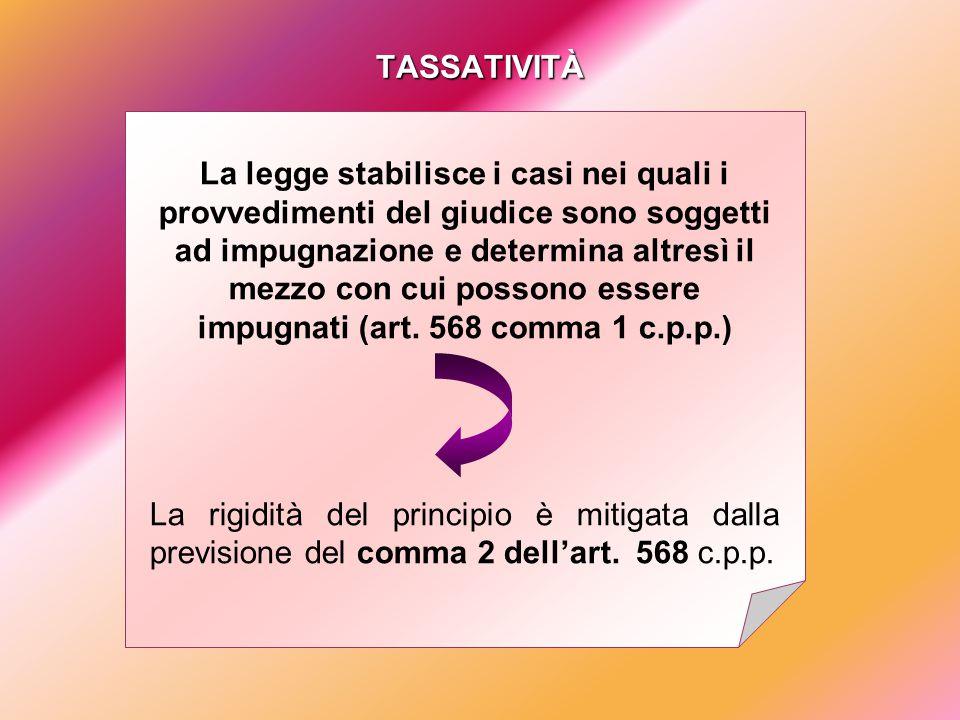 DECORRENZA DEI TERMINI ART.585 COMMA 2 C.P.P.