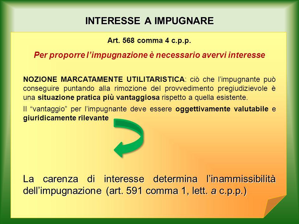 DOMANDA DI IMPUGNAZIONE Art.581 c.p.p.