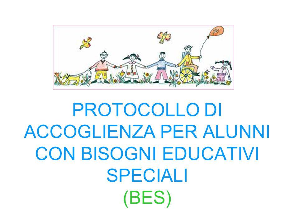 PROTOCOLLO DI ACCOGLIENZA PER ALUNNI CON BISOGNI EDUCATIVI SPECIALI (BES)