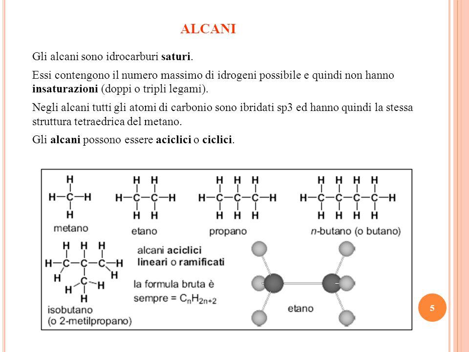 6 Alcani ciclici