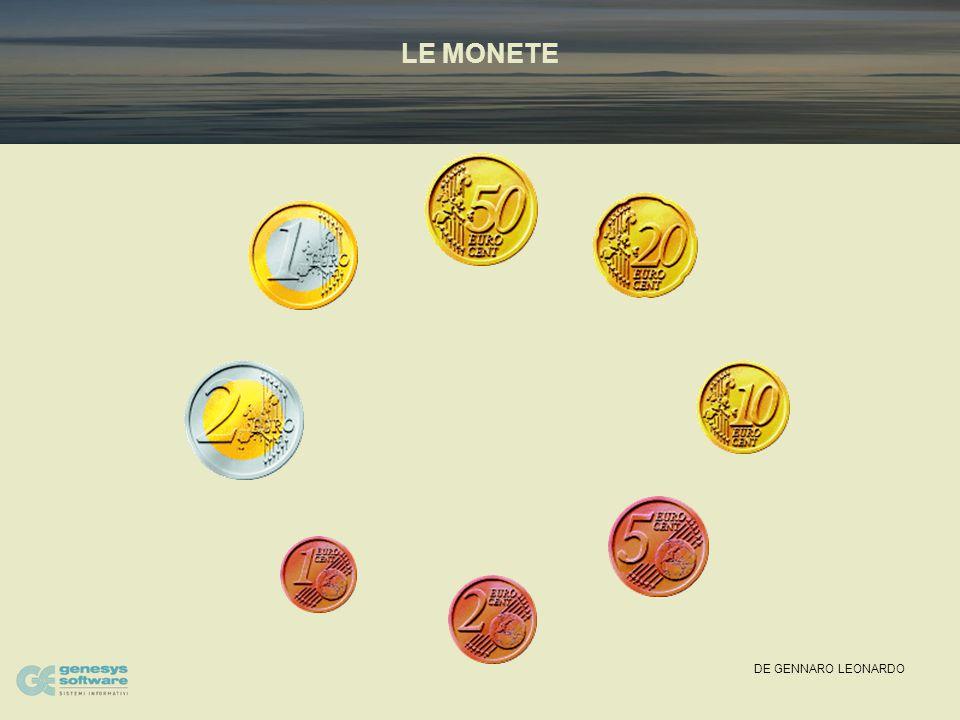 DE GENNARO LEONARDO QUAL E' LA DATA DI MESSA IN CIRCOLAZIONE DELLE MONETE E DELLE BANCONOTE IN EURO.