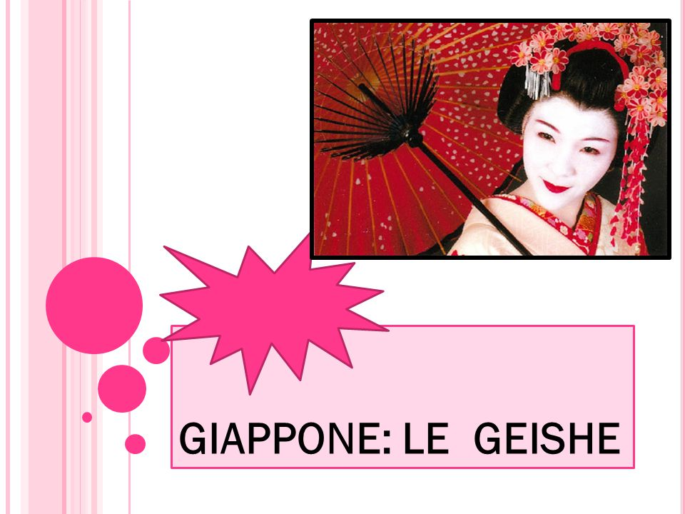 GIAPPONE: LE GEISHE
