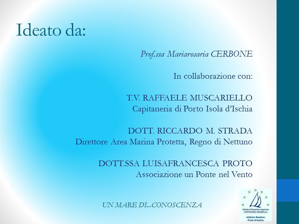 Ideato da: Prof.ssa Mariarosaria CERBONE In collaborazione con: T.V.