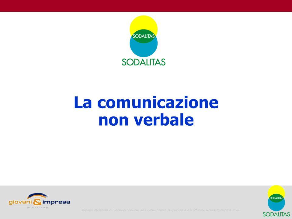 Giovani e Impresa La vita in azienda 11 La comunicazione non verbale Proprietà intellettuale di Fondazione Sodalitas.