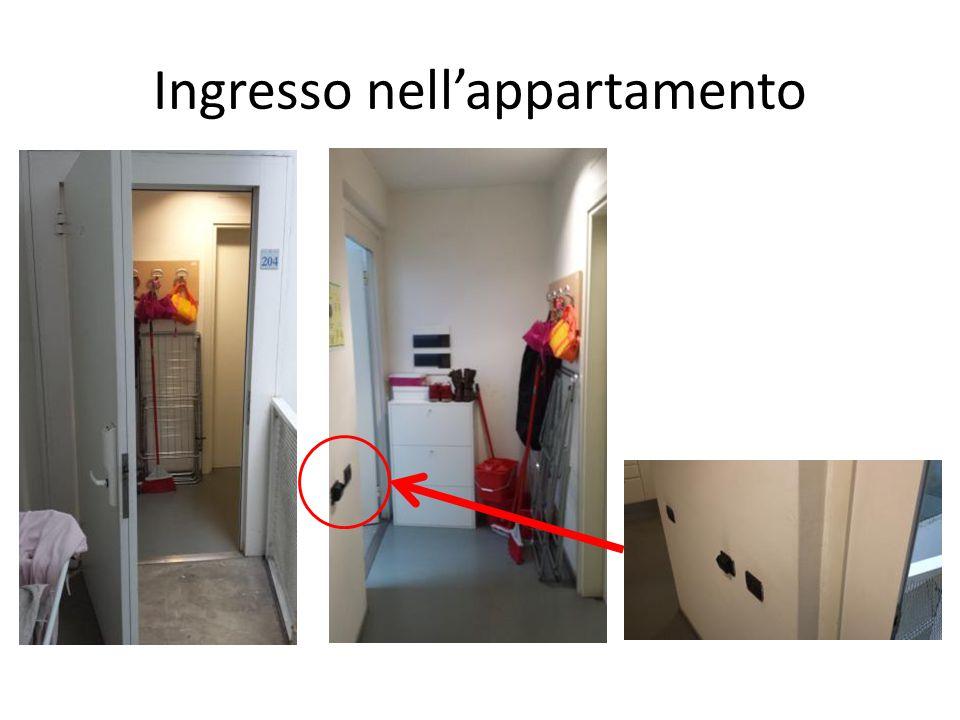 Ingresso nell'appartamento