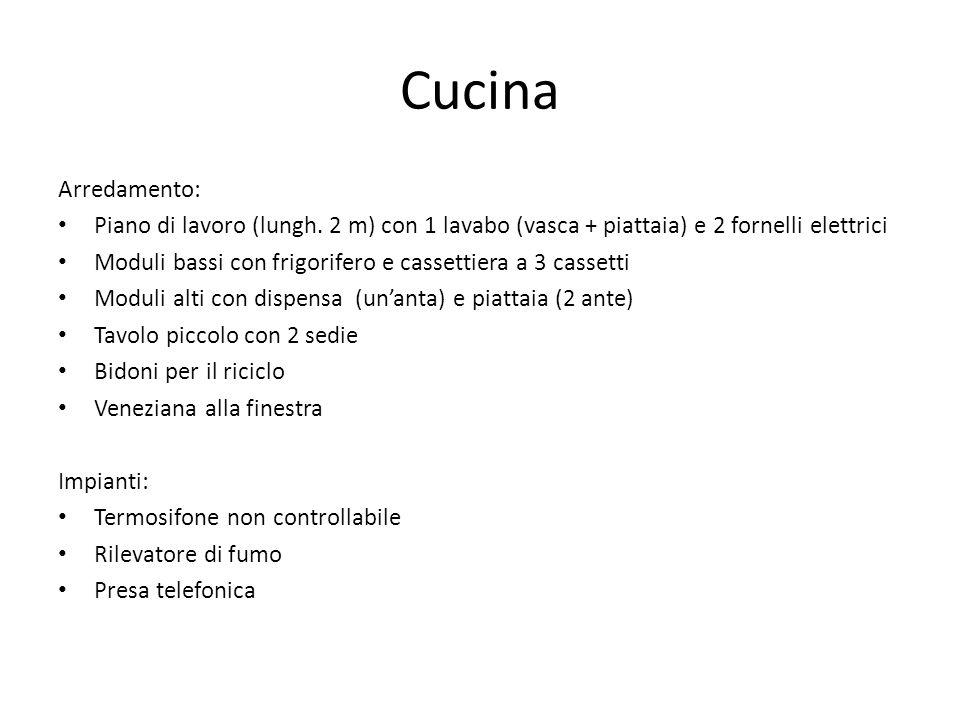 Cucina Arredamento: Piano di lavoro (lungh.