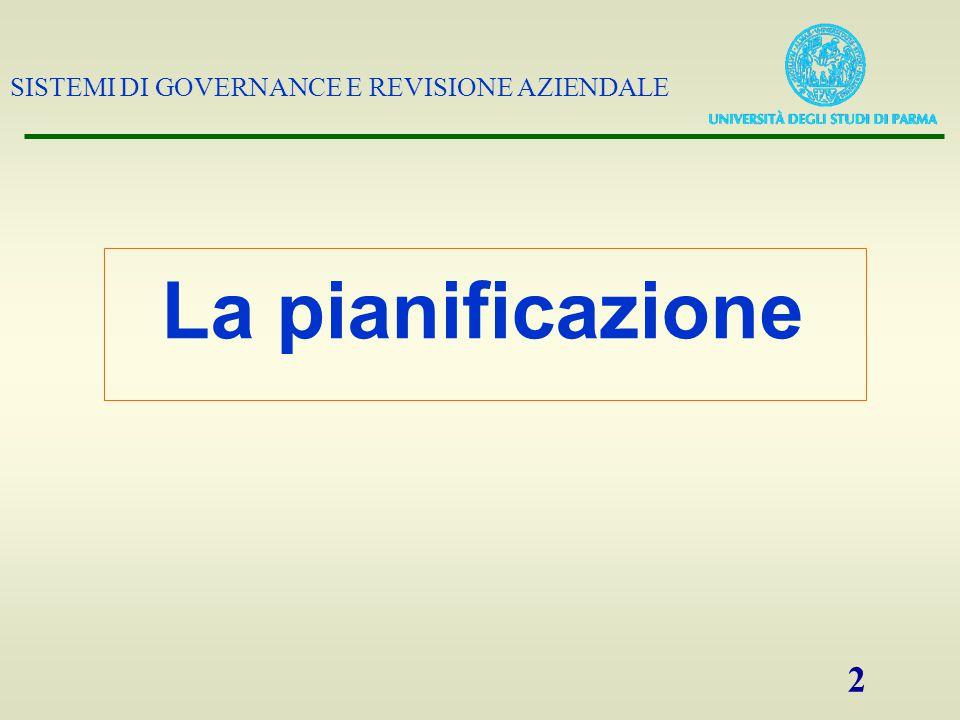 SISTEMI DI GOVERNANCE E REVISIONE AZIENDALE 23 PRINCIPI DI REVISIONE: DOC.