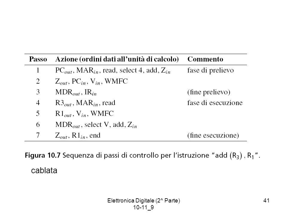 Elettronica Digitale (2^ Parte) 10-11_9 41 cablata