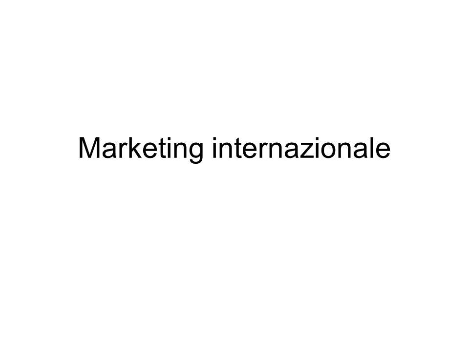 Lezione 1 – 21 febbraio 2005 Presentazione del corso Marketing internazionale 6 crediti, 42 ore di lezione frontale Docente: Maria Giovanna Devetag Tutor: dott.